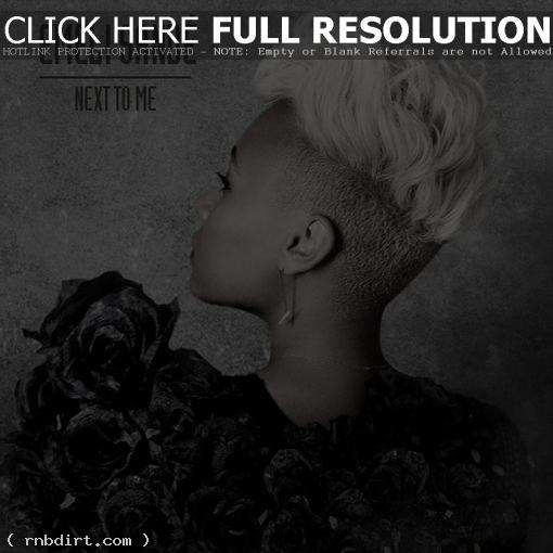 Emeli Sandé 'Next To Me' single artwork
