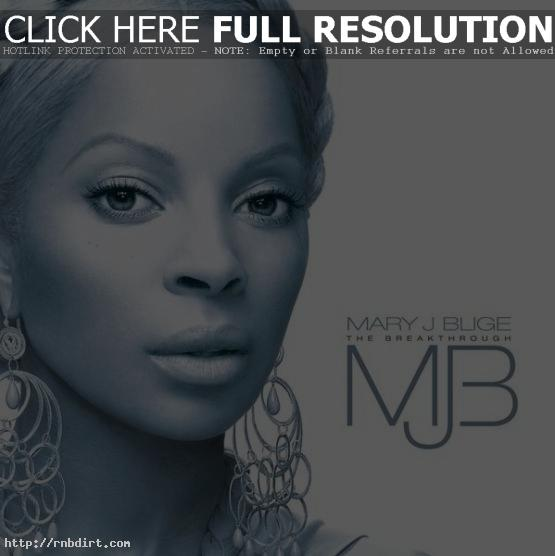 Mary J. Blige 'The Breakthrough' album cover