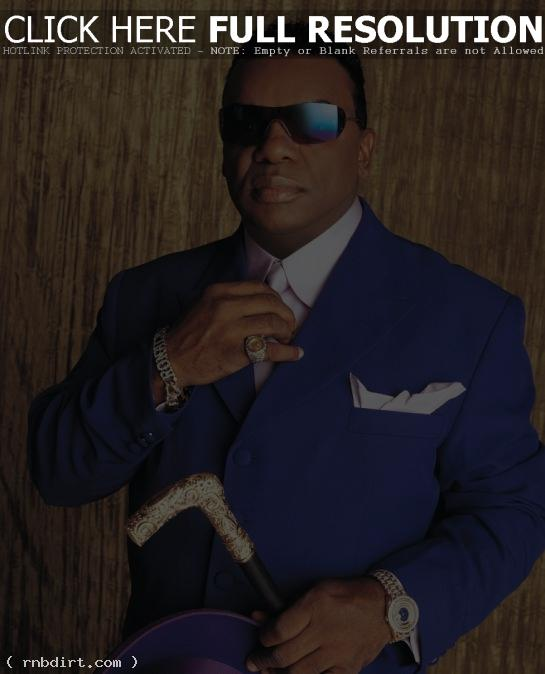 Ronald Isley of the Isley Brothers 'Body Kiss'