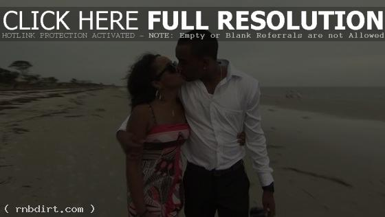 Bobbi Kristina and Nick Gordon kissing