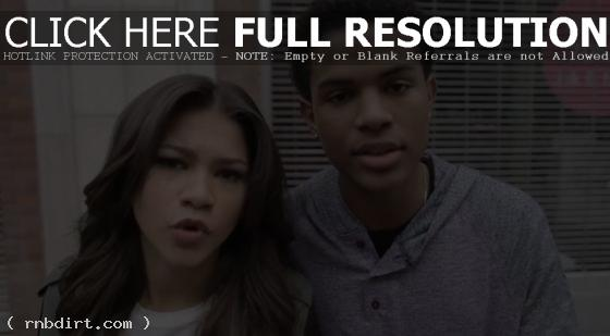Trevor Jackson and Zendaya Coleman